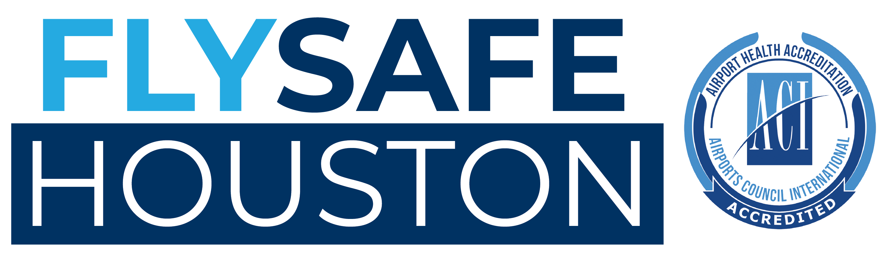 FlySafe Houston ACI logo