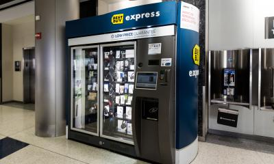 Best Buy Express Automated Kiosk