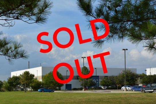 Houston Aerospace Support Center Sold Out